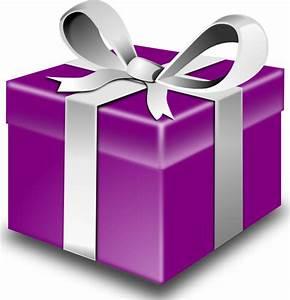 Secretlondon Purple Present Clip Art at Clker.com - vector ...