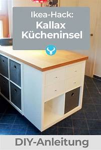 Ikea Kallax Anleitung : wie du aus dem ikea kallax regal eine k cheninsel machst in 2019 ikea kallax regal kallax ~ A.2002-acura-tl-radio.info Haus und Dekorationen