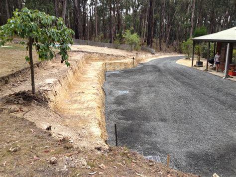 driveway drainage problems drainage