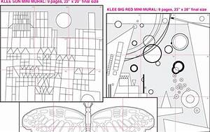 Abstract Mini Mural Set 2 Diagram