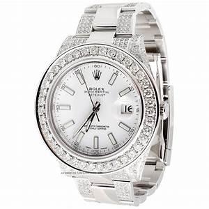 Uhr Rolex Herren : rolex datejust ii armbanduhr herren 2 diamanten wei ~ Kayakingforconservation.com Haus und Dekorationen