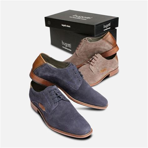 Whether you're looking for a smart shoe, trainers. Blue Suede Shoes for Men by Bugatti