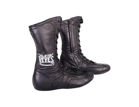 Leather High Top Boxing Shoes