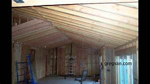 Long Sagging New Double Roof Rafters
