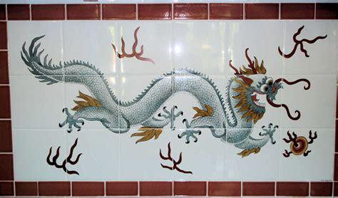 Orientalia-Chinese-Asian Glass-Porcelain-Tile Art-Murals