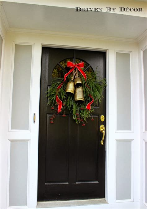 Decorating Our Front Door For Christmas  Driven By Decor