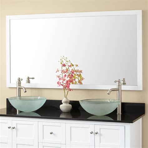 everett vanity mirror white bathroom mirrors bathroom