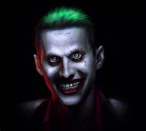 Jared Leto Joker Fan Art | Batman | Pinterest | Jared leto ...