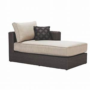 home decorators collection naples all weather dark wicker With wicker sectional sofa with chaise