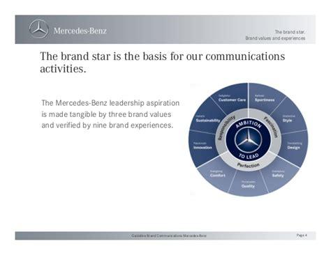 Guideline Brand Communications Mercedesbenz