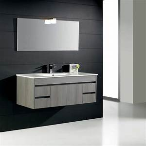 Meuble Salle De Bain En Solde : meuble de salle de bain nina 100 carrelages ~ Teatrodelosmanantiales.com Idées de Décoration