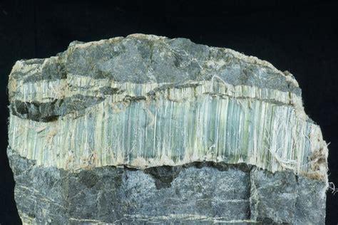 chrysotile asbestos mineral ore specimen large fibrous