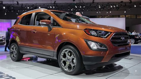 2018 Ford Ecosport Preview Youtube