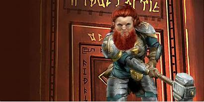 Female Dwarf Dragons Dungeons Bearded Angry Pansexual