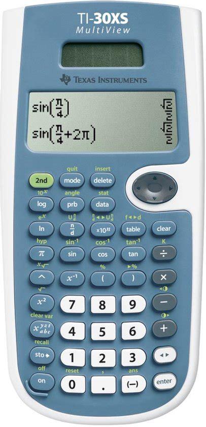 bolcom texas instruments ti xs multiview wetenschappelijke rekenmachine