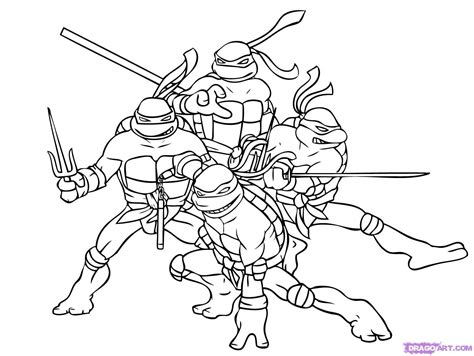 Step 8 How To Draw Ninja Turtles
