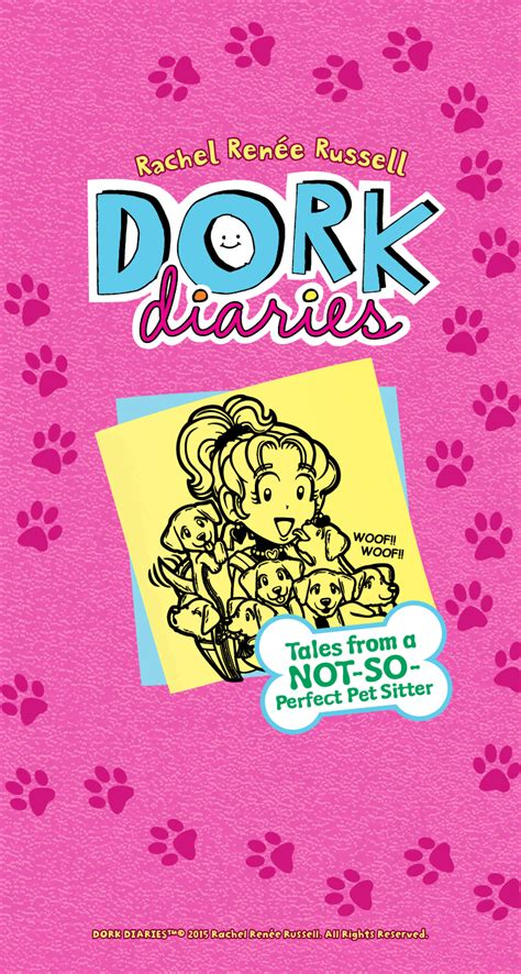 Tales From A Notso Perfect Pet Sitter  Wallpaper  Dork Diaries