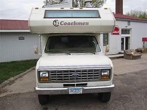 1987 Ford Coachmen 350 Econoline Rv Camper