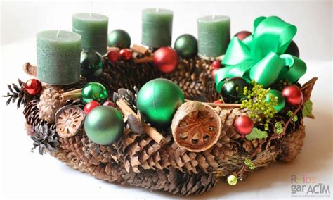 Idejas Adventes vainagiem un dekorācijām (Advent wreath ...