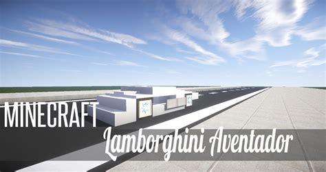lamborghini dealership minecraft minecraft vehicle tutorial how to build lamborghini