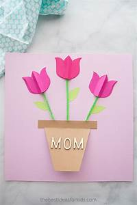 Mother's Day Card Craft - The Best Ideas for Kids