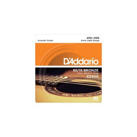d addario ez900 american 85 15 bronze 10 50 acoustic