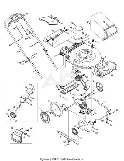 mtd akdn  parts diagram  general assembly