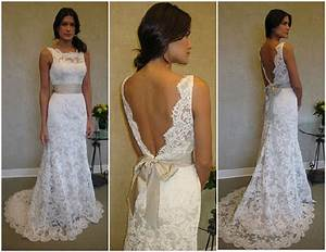 lace wedding dress dressed up girl With lace back wedding dresses