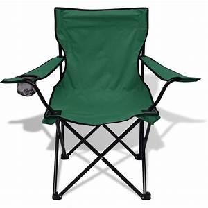Table Et Chaise Camping : acheter vidaxl table et 2 chaises de camping vert pas cher ~ Nature-et-papiers.com Idées de Décoration