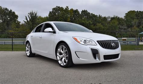 Track Drive Review  2016 Buick Regal Gs