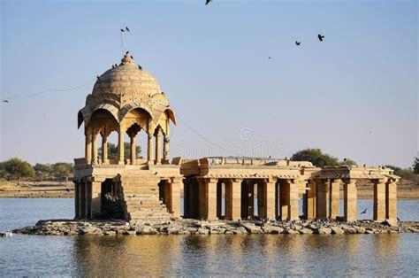 Gadi Sagar, Gadsisar Lake Jaisalmer, Rajasthan, North ...