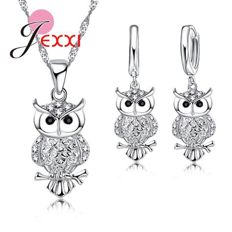Product Of The Week An Interactive Owl Shaped Security by Jexxi Owl Pretty Shape 925 Sterling Silver Fashion Jewelry