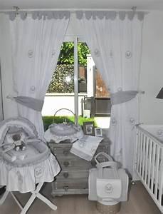Rideau Occultant Chambre Bébé : rideaux chambre bebe fille rideaux gris chambre bebe ~ Dailycaller-alerts.com Idées de Décoration