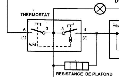 Schema Cablage Thermostat Congelateur