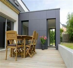 Prix M2 Extension Maison Parpaing : prix d 39 une extension de maison avec toit plat habitatpresto ~ Melissatoandfro.com Idées de Décoration