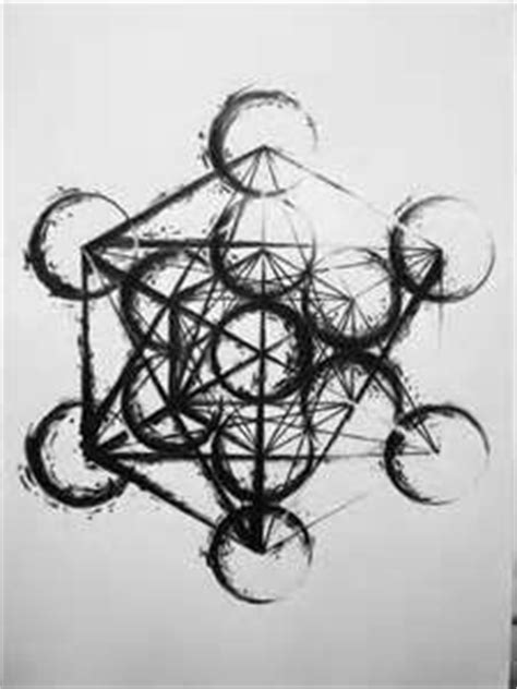 SYMBOLIC INK. METATRON'S CUBE | Sacred geometry tattoo