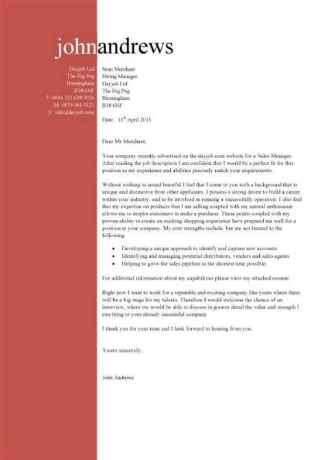 Cover Letter For Business Plan by Business Plan Cover Letter Sle Cover Letters