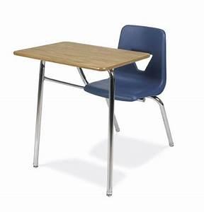 Virco 2400BR Soft Plastic Student Chair Desk Combo ...