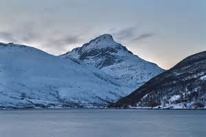 Troms County Norway Fjords