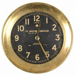 Chelsea Maritime Commission Ships Bell Clock Price  U0026 Value