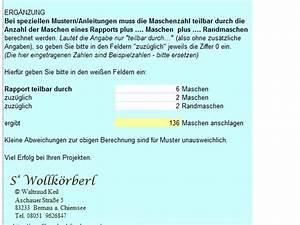 Maschenprobe Berechnen : maschenprobe umrechnen so geht 39 s ~ Themetempest.com Abrechnung