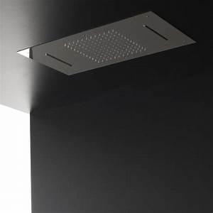 Douche Encastrable Plafond : plafond douche encastr pluie cascades 70x40 treemme ~ Premium-room.com Idées de Décoration