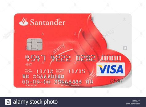 Santander uk plc manages its affairs autonomously. Santander bank branding logo payment card Stock Photo, Royalty Free Image: 52280787 - Alamy