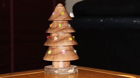 christmas tree lamp christmas ornament woodturning