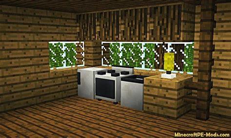 Kitchen In Minecraft Pe by Caueh Ultilities Addon For Minecraft Pe 1 12 0 1 11 4 1