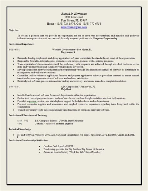 social work resume objective skills chronological template