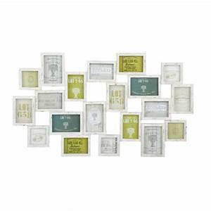 Maison Du Monde Cadre Photo : cadre photo blanc multivues 52 x 89 cm memories maisons du monde ~ Teatrodelosmanantiales.com Idées de Décoration