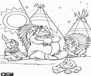 Tiger Lily Peter Pan Coloring Pages Sketch Coloring Page