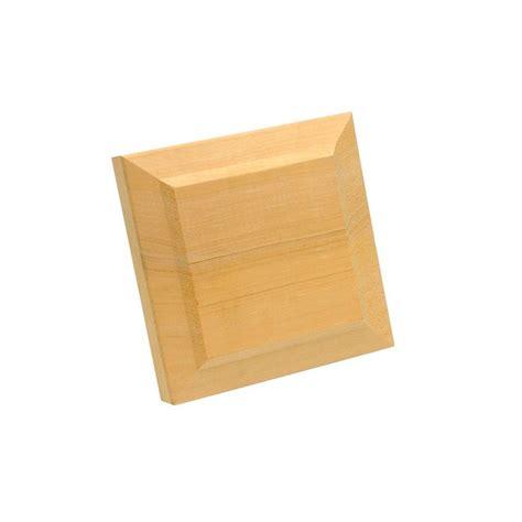 Stair Simple Hemlock Newel Cap & Trim Kit-he9920000w