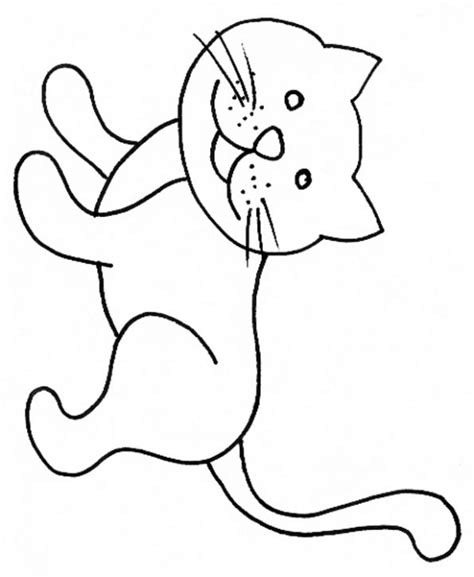 coloriage chat assis